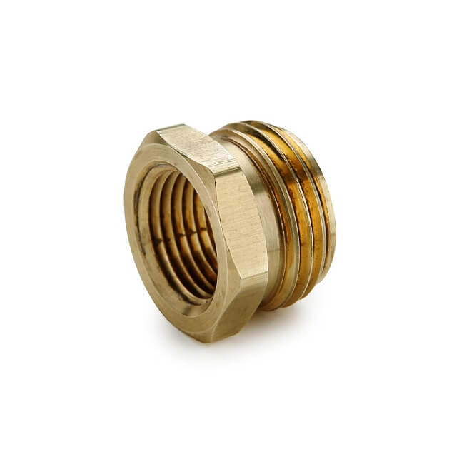 Brass flare adapter